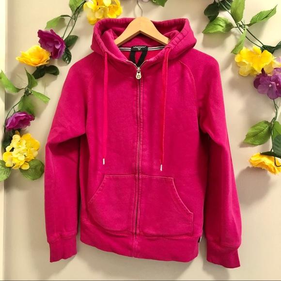 4/$20☀️ Tuff Athletics Zip Up Pink Hoodie